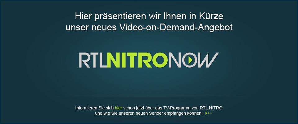 Rtl Nitro Now Fernsehen Für Helden Rtl Nitro