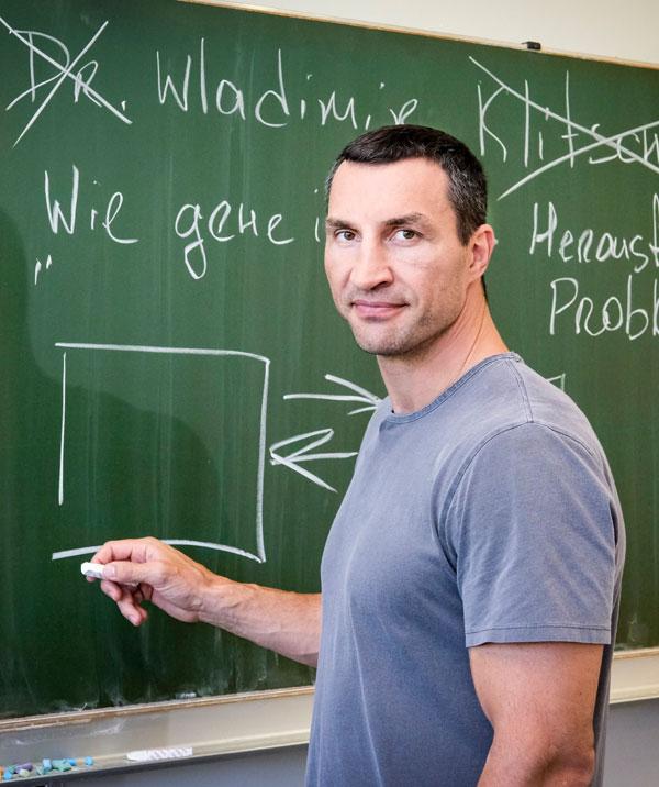 Der Vertretungslehrer mit Wladimir Klitschko
