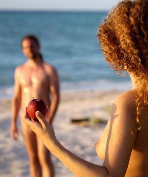 Adam sucht Eva Gestrandet im Paradies