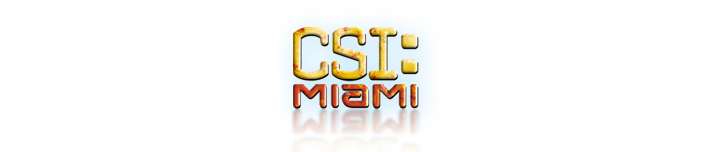 CSI: Miami  Logo