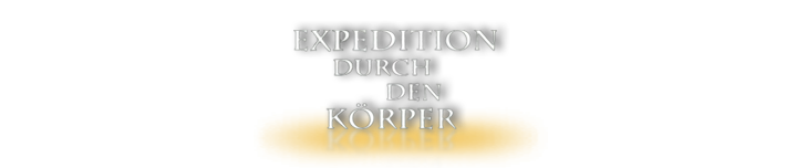 Expedition durch den Körper Logo