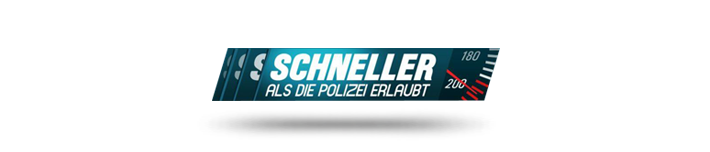 Schneller als die Polizei erl. Logo