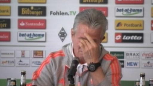 'Don Jupp' weint zum Abschied