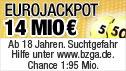 Deutschland jagt den EuroJackpot