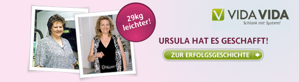 Ursula hat es geschafft!