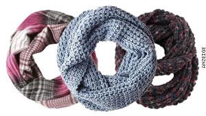 Exklusive Schals passend zum Wetter